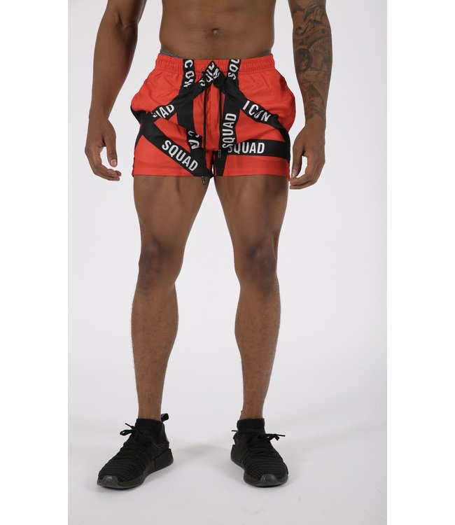 SWIMSHORTS ICON - RED