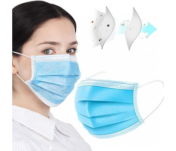 Mondkapjes.nl 50 pack Chirurgische mondmaskers (GB/T 32610-2016)