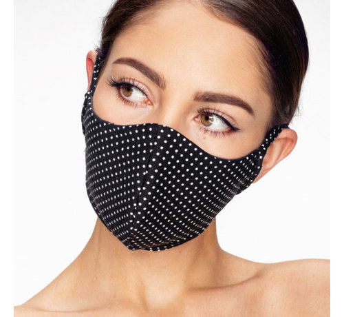 Street Wear Mask Washable mask made of OEKO TEX cotton - 3D preshaped