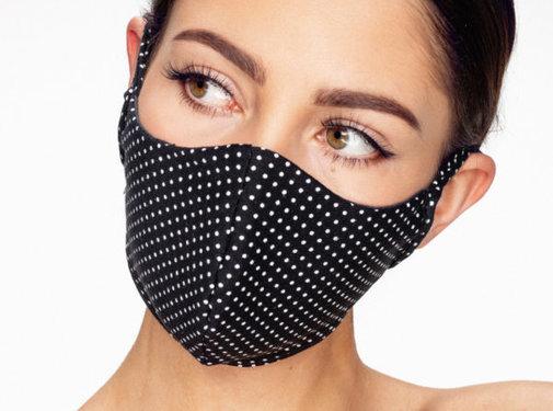 Street Wear Mask Stoffen Mondkapje | Stippen | 1x
