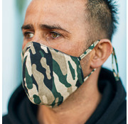 Street Wear Mask Stoffen Mondkapje | Camo | 1x