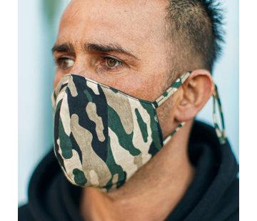 Street Wear Mask Mondkapje Camo - M03