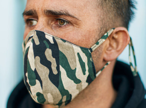 Street Wear Mask Washable Mask Camo - M03