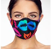 Street Wear Mask Stoffen Mondkapje | Lippen | 1x