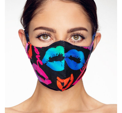 Street Wear Mask Washable mask made of OEKO TEX cotton - 3D preshaped LET OP LEVERTIJD