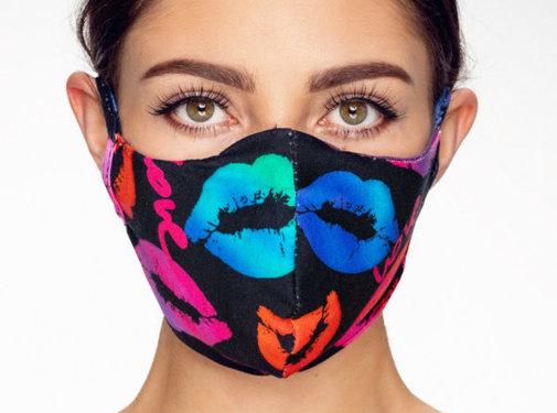 Street Wear Mask Stoffen Mondkapje   Lippen   1x