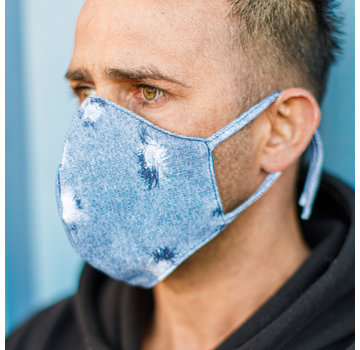 Street Wear Mask Washable Mask Jeans - M05
