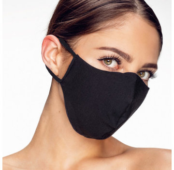 Street Wear Mask Washable Mask Black - M08