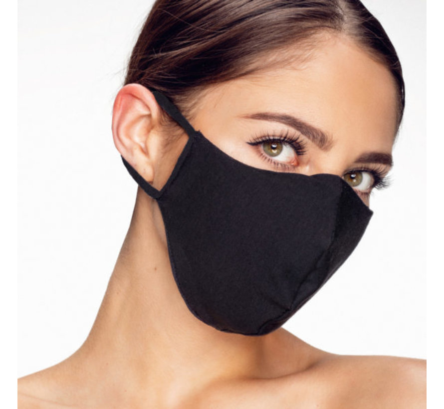 Washable mask made of OEKO TEX cotton - 3D shaped