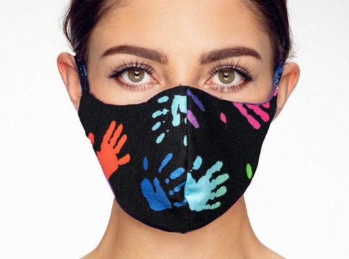 Street Wear Mask Stoffen Mondkapje   Handjes   1x