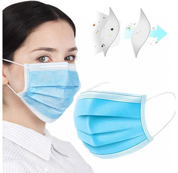 Mondkapjes.nl 150 pack surgical mask (GB/T 32610-2016)