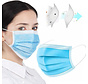 150 surgical masks packed in a box per 50 pieces x3 boxes (GB/T 32610-2016)