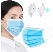 Mondkapjes.nl 1000 stuks Chirurgische mondmaskers, verpakt  in doosjes van 50   (GB/T 32610-2016)