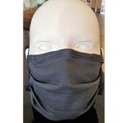 Mondkapjes.nl Washable Mask Coton Dark Grey