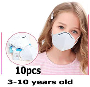 Mondkapjes.nl 10 stuks - 4-laags kids/ tiener masker KN95 FFP2