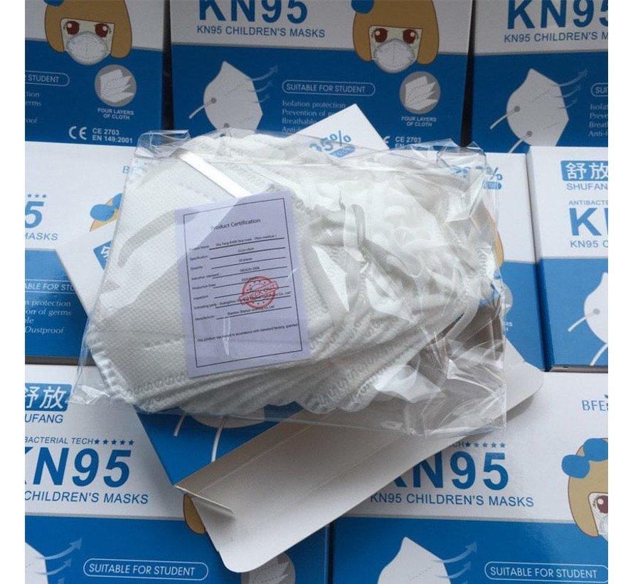 10 pack - 4-layer kids masks KN95