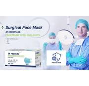 Mondkapjes.nl 50 stuks Chirurgische Medical IIR - 3A topkwaliteit