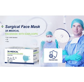 Mondkapjes.nl 50 pack 3A Medical IIR top quality
