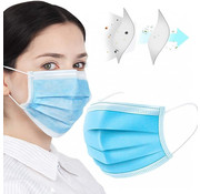 Mondkapjes.nl 3000 pack surgical mask in boxes of 50pc
