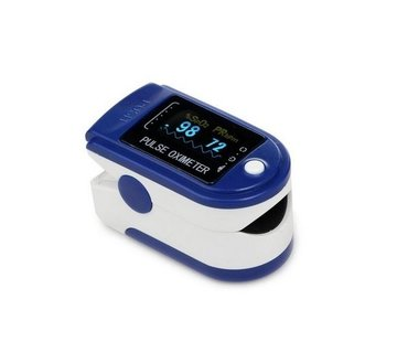 Pulse Oxygen measurement blue O2