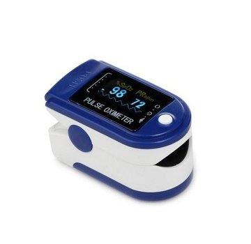 Contec Contec Zuurstofmeter CMS50D blauw O2