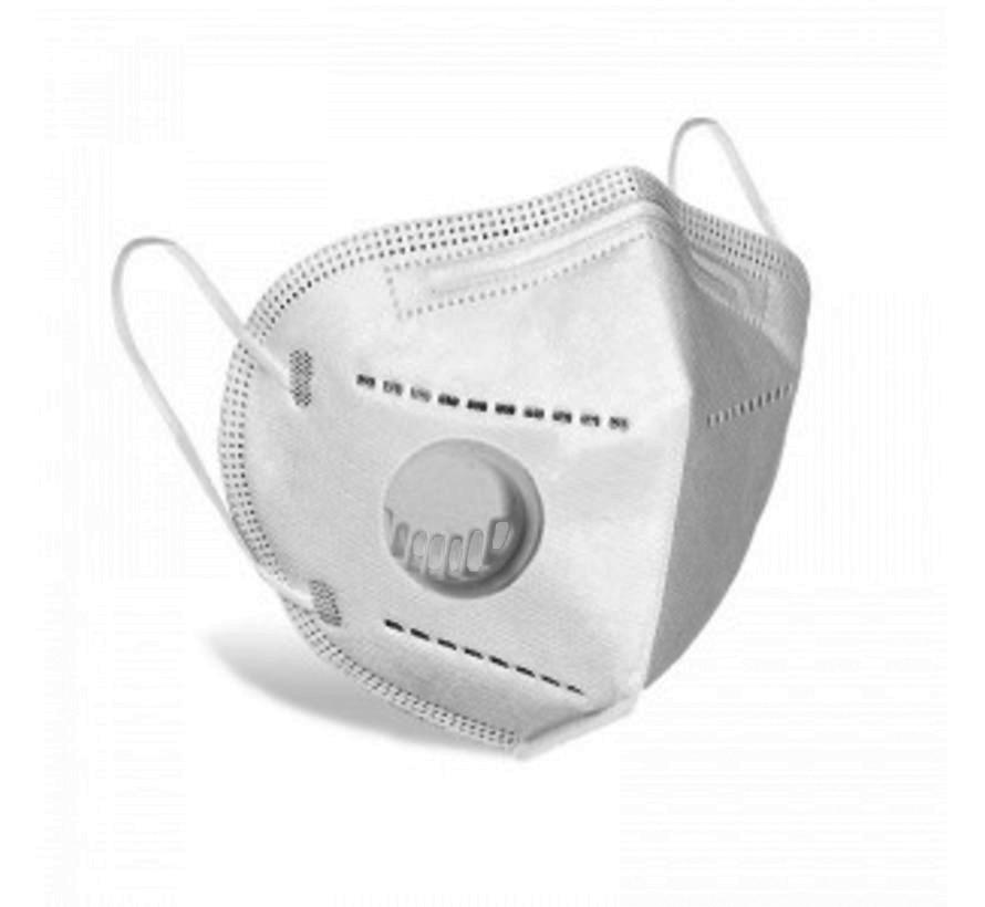 10 stuks -  Ventiel - TNO getest 5 Laags mondmasker vd hoogste bescherming en kwaliteit beter dan KN95 = FFP2