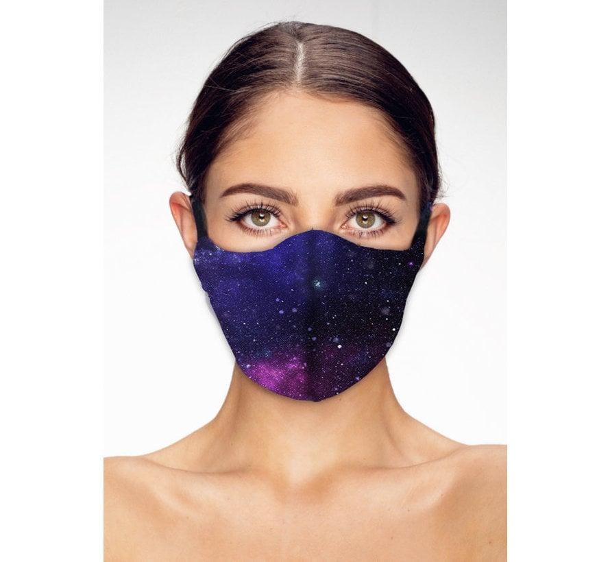 Stoffen Mondkapje | Cosmos | Streetwear | Zacht Katoen | Single pack