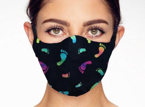 Street Wear Mask Stoffen Mondkapje | Feets | 1x