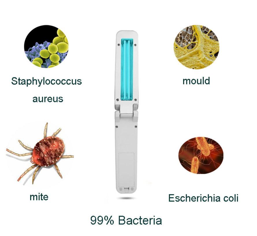 Desinfectie UV-Lamp| Oppervlakte reiniger|  Batterij/USB