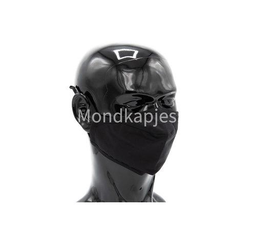 Mondkapjes.nl Face mask | Plain Black | AP | Without valve | Single pack