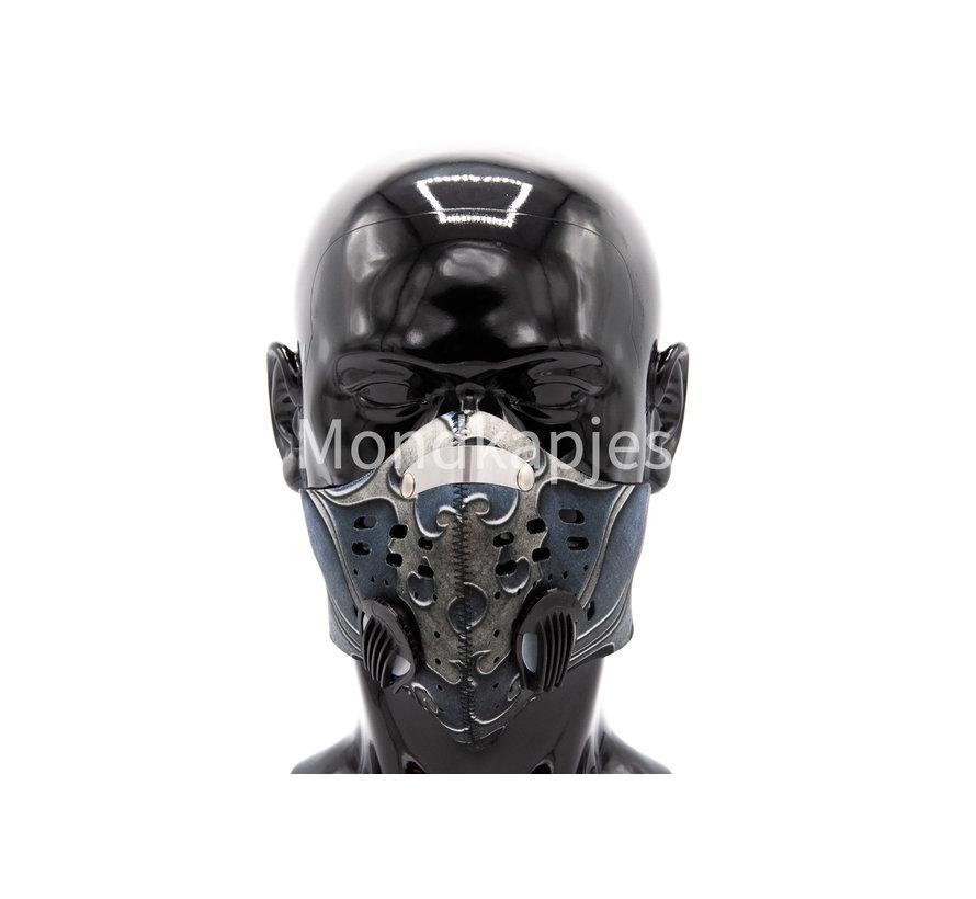 Stoffen Trainingsmasker |  Ancient Grey | AP | Dubbel ventiel | Single