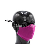 Street Wear Mask Mondkapje  Purple Rain Magenta