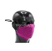 Street Wear Mask Washable Facemask Purple Rain Magenta