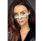 Street Wear Mask Mouth Shield Baby Blue