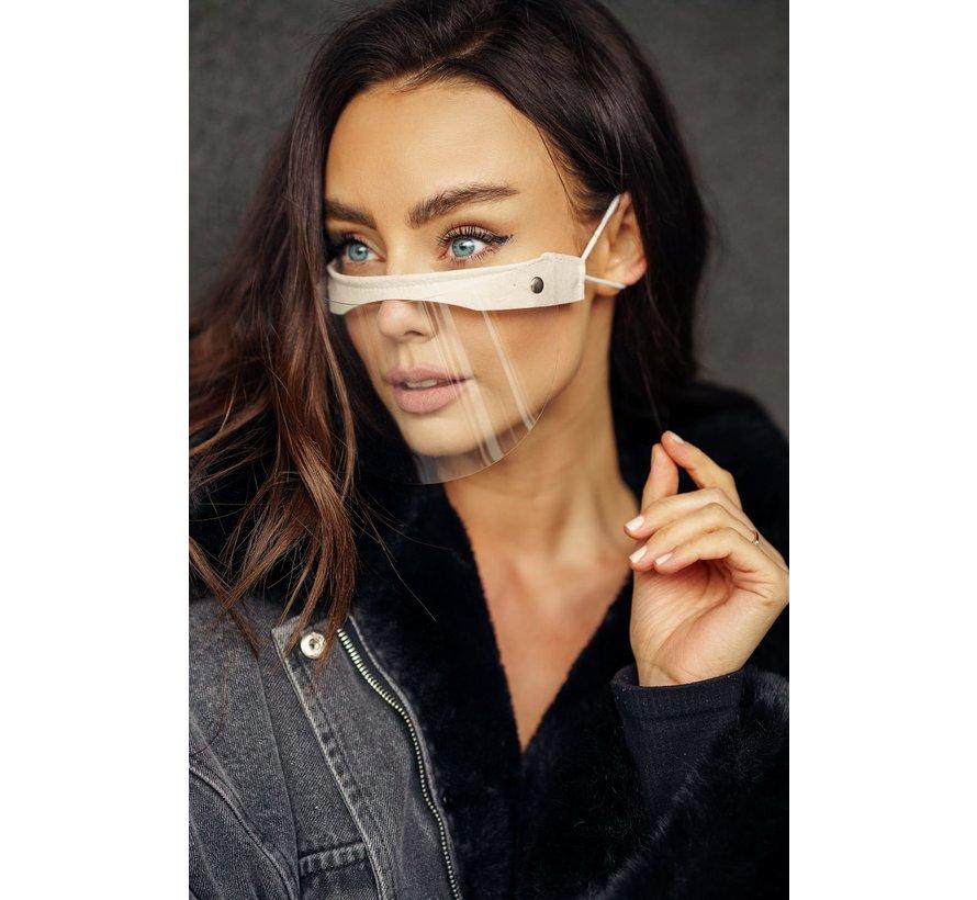Face Shield - Mondscherm  | Street wear | Mini Shield Cream