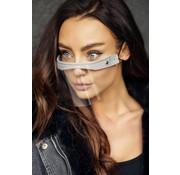 Street Wear Mask Mond Shield Cream Gray