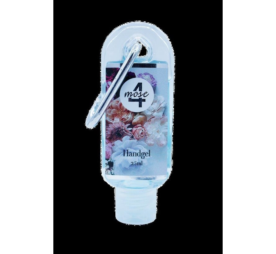 Desinfectie Sleutelhanger Handgel | Flower | 4Mose | 25ml