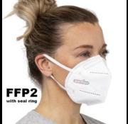 Purvigor 20 stuks - FFP2 NR 5 Laags kwaliteit mondmasker /  gecertificeerd FFP2 mondkapje