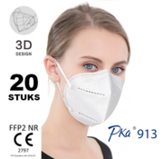 Pka 20 pack - FFP2 NR 5 Layer Top quality comfortable mask