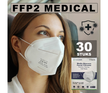 Medical NR 30x Dailysafe FFP2 NR medische mondkapjes
