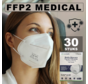 30 pack FFP2 NR medical masks EN 149:2001 +A1:2009 certified