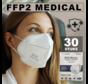 30 stuks Dailysafe FFP2 NR medisch EN 149:2001 +A1:2009 gecertificeerd