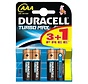 4 stuks AAA batterijen