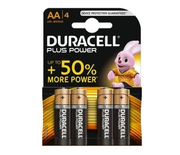 Duracell 4 pc AA batteries