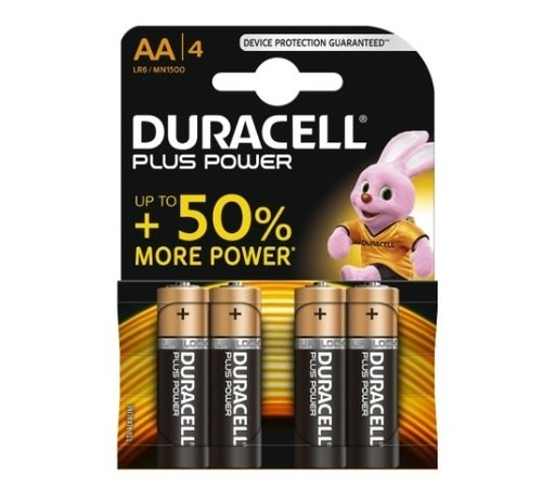 Duracell 4 stuks AA batterijen
