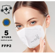 Mondkapjes.nl 5 pieces FFP2 Medical made in EU
