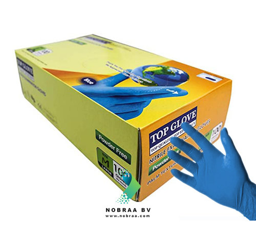 Top Glove 100 pieces Top Glove Medical Examination Gloves Nitrile | Medium