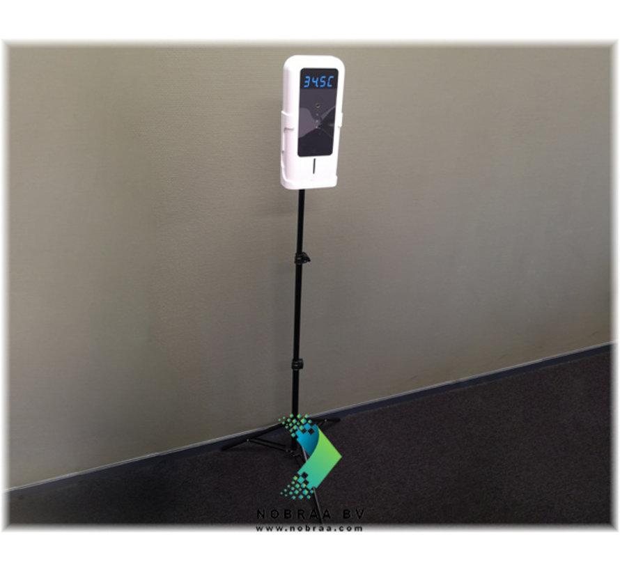 Automatische Zeep- of desinfectie Dispenser met Thermische Scanner
