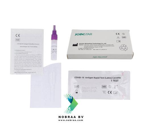 Joinstar Biomedical Technology Coronatest Joinstar Speekseltest Covid-19 zelftest Kopen