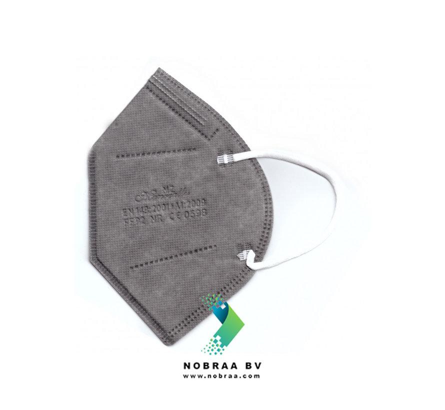 20 pack MZ  FFP2 NR Medical Face Masks Grey EN 149:2001 +A1:2009 certified